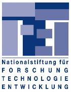 Logo Nationalstiftung f. Forschung Technologie Entwicklung