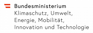 Logo Bundesministerium für Klimaschutz, Umwelt, Energie, Mobilität, Innovation und Technologie